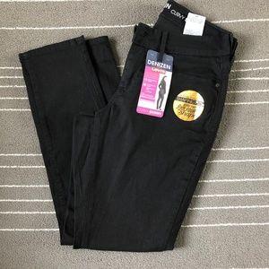 DENIZEN Levi's Women's Curvy Skinny Black Jeans